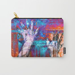 Walk through walls Carry-All Pouch
