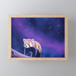 Red Panda Painting II Framed Mini Art Print