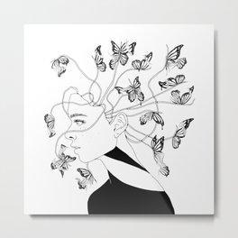 Figments II (Head Full of Broken Realities) Metal Print