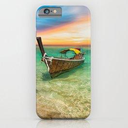 Longboat Sunset Thailand iPhone Case