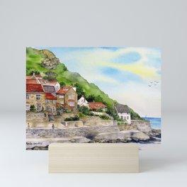 Summer in Runswick Bay Mini Art Print