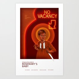 Rosemary Alternative Movie Poster Art Print