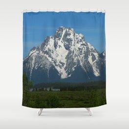 Beautiful Grand Teton NP Shower Curtain
