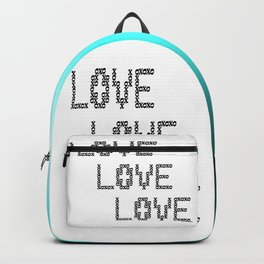 So Much Love to Give 02 Backpack