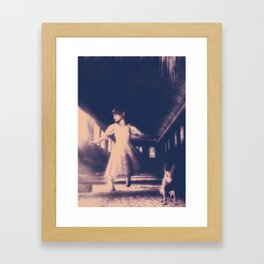 Rabbit Of A Different Color Framed Art Print