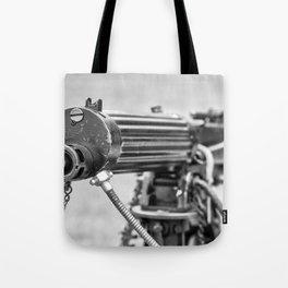 Vickers Machine Gun Tote Bag