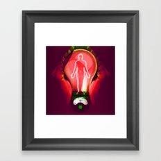 Body energy Framed Art Print