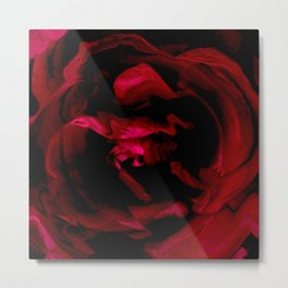 Impression of a rose Metal Print