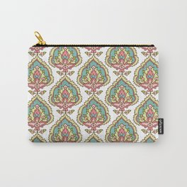 Cora Damask Spring Carry-All Pouch