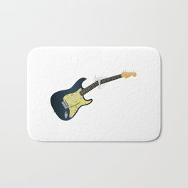 Clean Guitar Neck Break Bath Mat