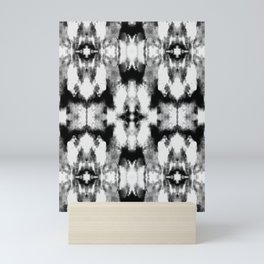 Tie Dye Blacks Mini Art Print
