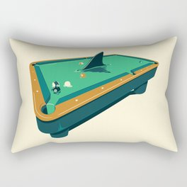 Pool shark Rectangular Pillow