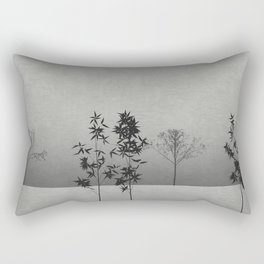 Landscape with Trees Rectangular Pillow