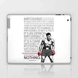 Ali 'The Champ' Boxing Laptop & iPad Skin