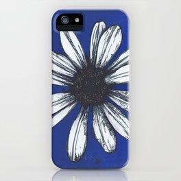 Symptom of Disorder in Cobalt iPhone Case