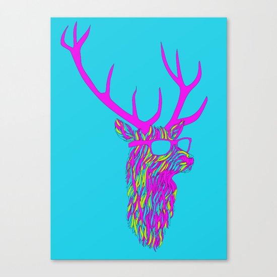 Party deer Canvas Print