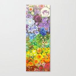 le jardin de la fleur Canvas Print