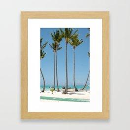 Palmies Framed Art Print