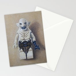 minifig oil painting Stationery Cards
