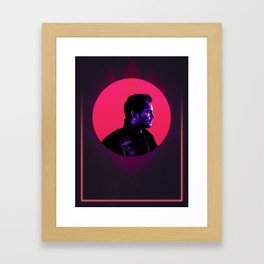 Peter Quill 80's Character Poster Framed Art Print