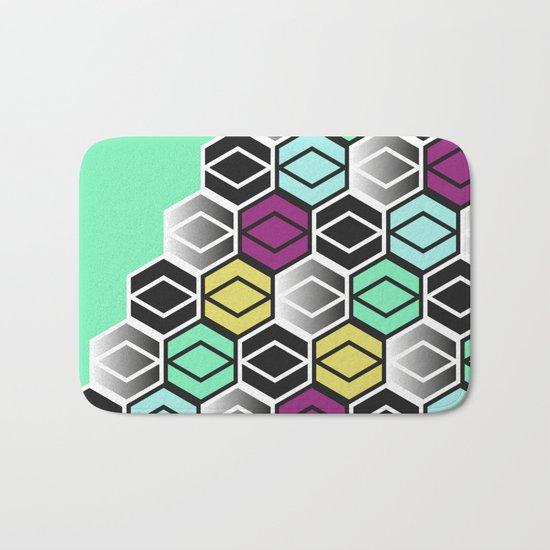 HexagonWall Bath Mat