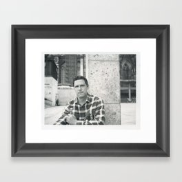 tourist Framed Art Print