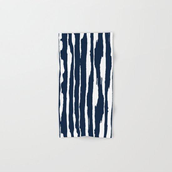 Blue- White- Stripe - Stripes - Marine - Maritime - Navy - Sea - Beach - Summer - Sailor 5 Hand & Bath Towel