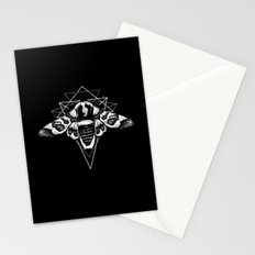 Geometric Moth 2 Stationery Cards