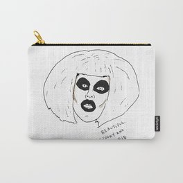 Beautiful Spooky Stupid Carry-All Pouch