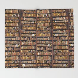 Books, books, books Throw Blanket