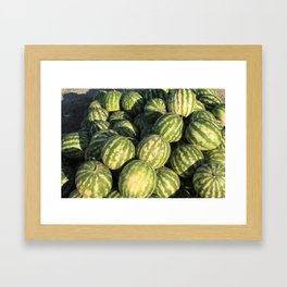 Hey Melon  Framed Art Print