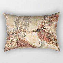 Angel Touch. Rectangular Pillow