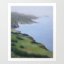 Cabot Trail Slopes, Nova Scotia Art Print
