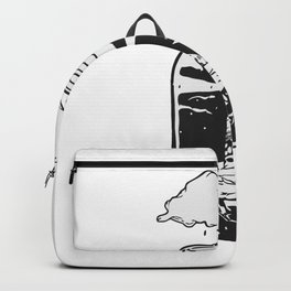 World in a jar Backpack