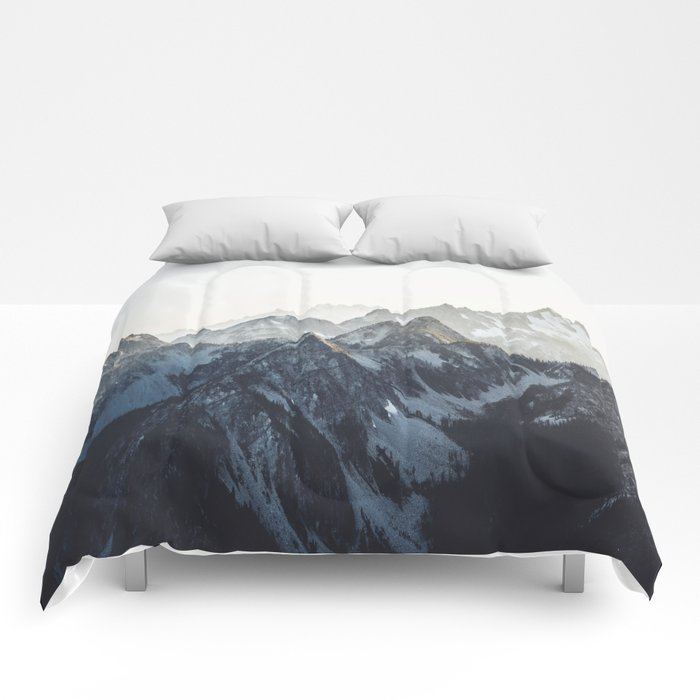 Mountain Mood Comforters