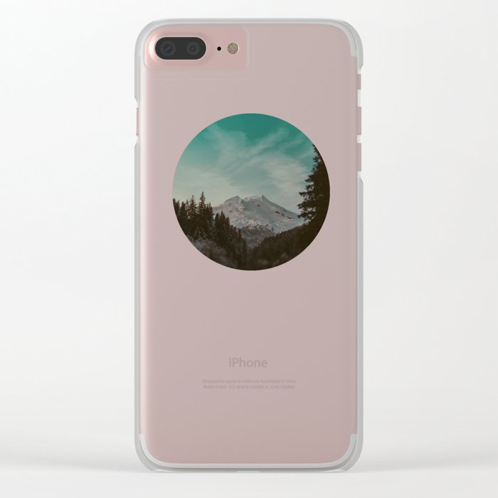 Mt. Baker Clear iPhone Case