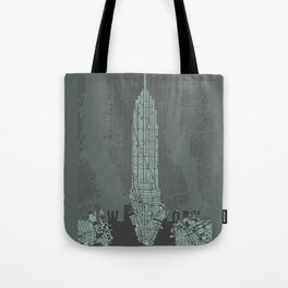 Empire State NY Tote Bag