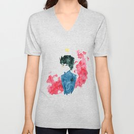 The Crown Prince of Red London Unisex V-Neck
