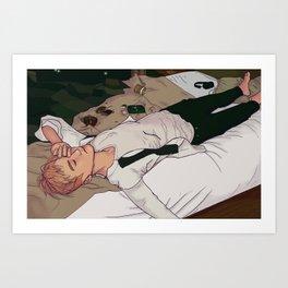 HYYH Yoongi Art Print