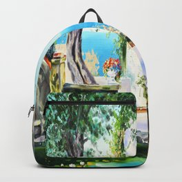 Cozy courtyard # 2 Backpack