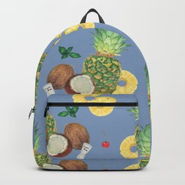pinacolada_blue Backpack