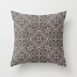 Luxury Modern Baroque Pattern Throw Pillow