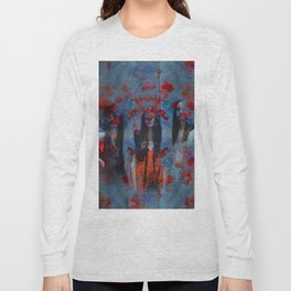 Abstract three women Long Sleeve T-shirt