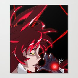 I can Taste you (witchblade Anime) Canvas Print