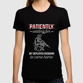 Looking Forward Husband Military Wife Gift T-shirt
