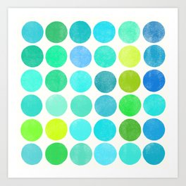 colorplay 10 Art Print
