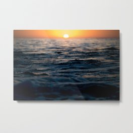 Newport Beach Sunset  Metal Print