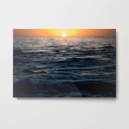Newport Beach Sunset  Metal Print