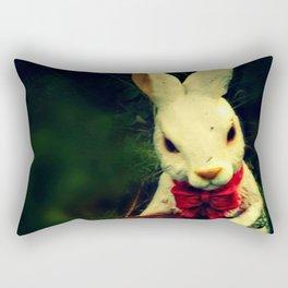 Garden Rabbit Rectangular Pillow