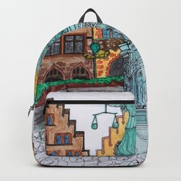 Frankfurt, Germany Backpack